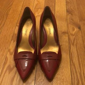 Circa Joan & David CJKrystle leather pumps!